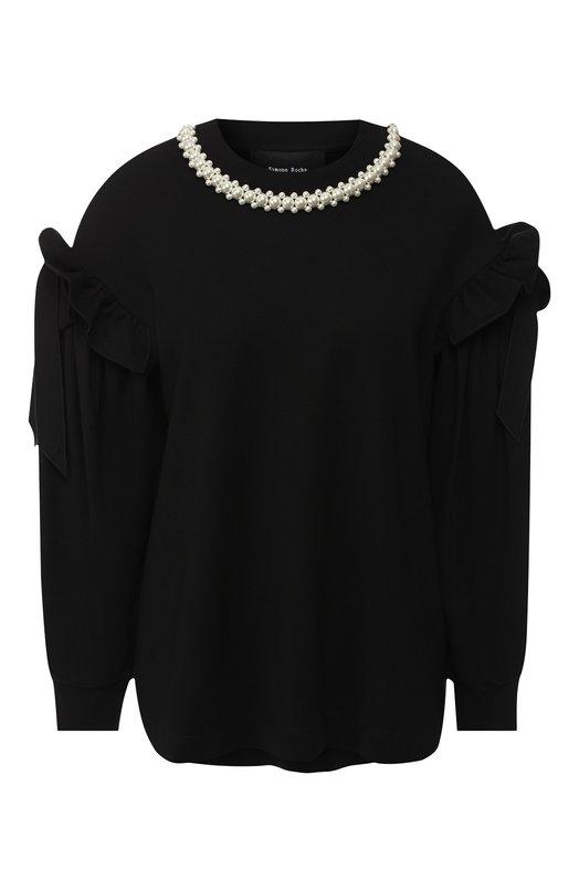 Пуловер с декоративной отделкой Simone Rocha