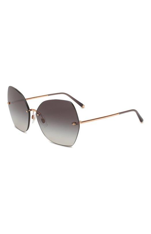 Купить Солнцезащитные очки Dolce & Gabbana, 2204-12988G, Италия, Серый, Оправа-металл; Линзы-поликарбонат;