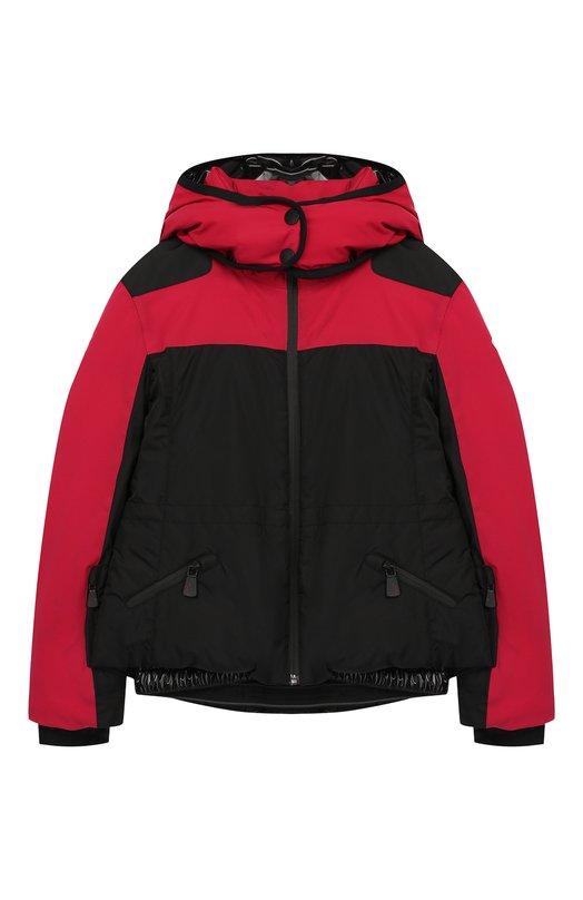 Купить Куртка на молнии с капюшоном Moncler Enfant, D2-954-46877-35-53066/8-10A, Армения, Розовый, Полиамид: 100%; Подкладка-полиамид: 100%;