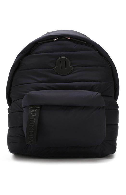 Купить Текстильный рюкзак с внешним карманом на молнии Moncler, D2-09A-00628-00-54155, Румыния, Темно-синий, Текстиль: 100%;