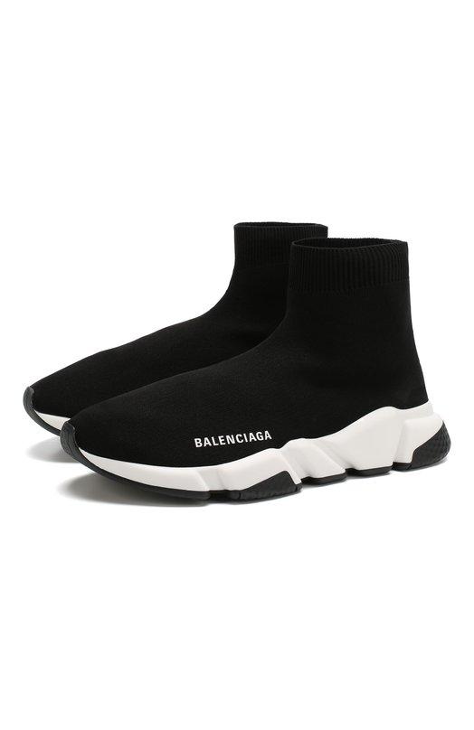 Текстильные кроссовки Speed Balenciaga Balenciaga