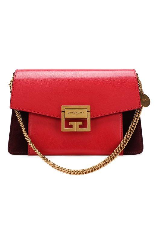 Купить Сумка GV3 small Givenchy, BB501CB09U, Италия, Красный, Кожа натуральная: 100%;