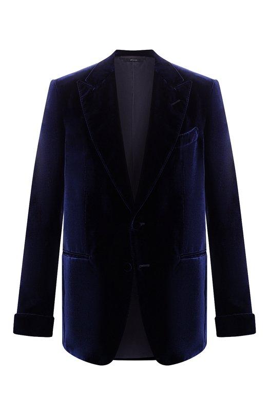 Однобортный пиджак из вискозы Tom Ford