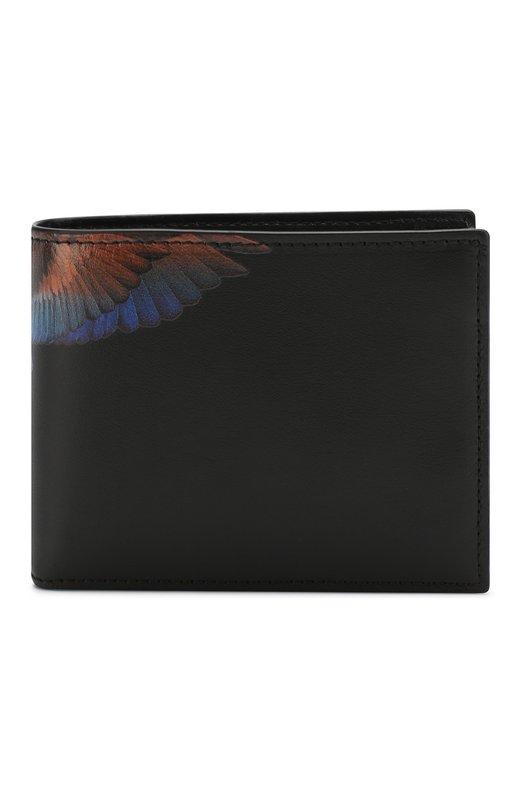 Кожаное портмоне с отделениями для кредитных карт Marcelo Burlon