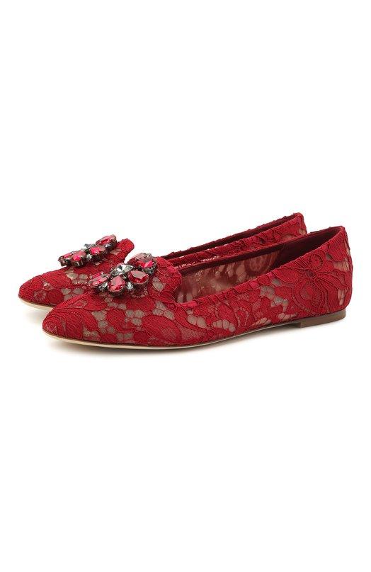 Кружевные слиперы Rainbow Lace Dolce & Gabbana