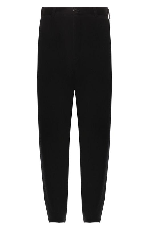 Купить Шерстяные брюки Balenciaga, 542640/T1509, Италия, Черный, Шерсть: 58%; Полиамид: 41%; Эластан: 1%;