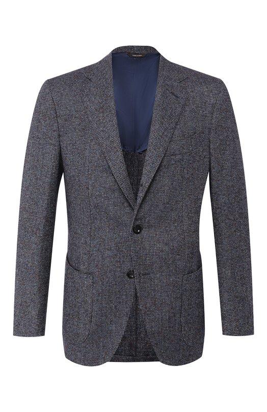 Однобортный пиджак из шерсти Loro Piana