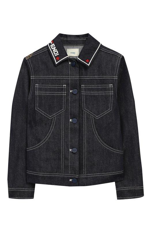 Джинсовая куртка Fendi