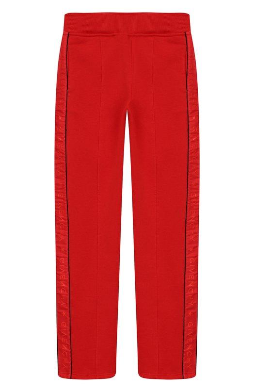 Купить H14034/6A-12A, Хлопковые брюки Givenchy, Тунис, Красный, Хлопок: 86%; Полиэстер: 14%;, Женский, Брюки
