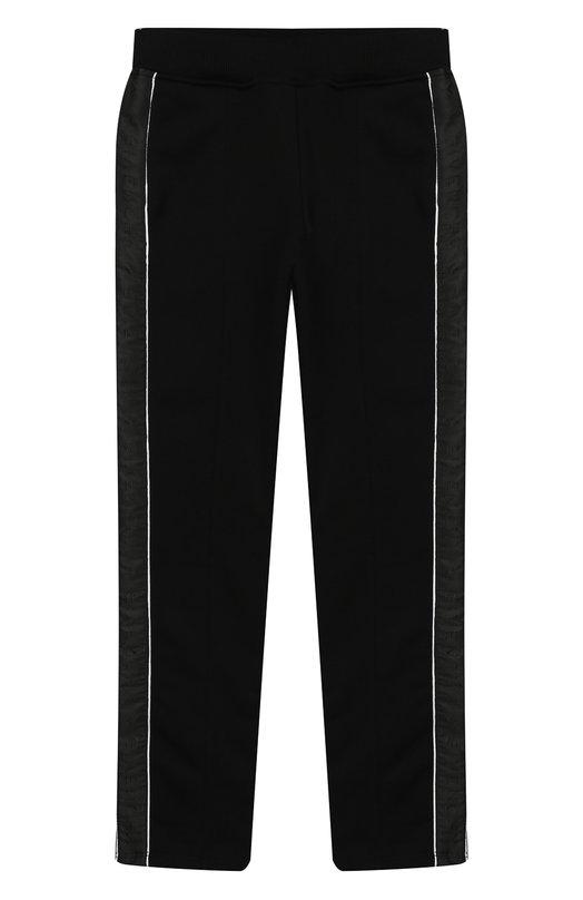 Купить H14034/6A-12A, Хлопковые брюки Givenchy, Тунис, Черный, Хлопок: 86%; Полиэстер: 14%;, Женский, Брюки