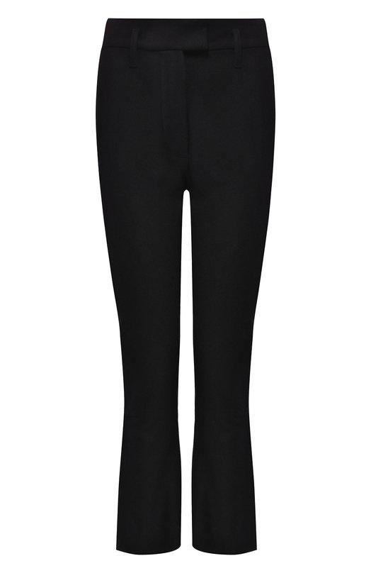 Купить Укороченные шерстяные брюки Ann Demeulemeester, 1802-1406-P-177-099, Болгария, Черный, Шерсть: 100%;