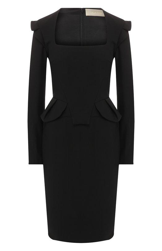 Приталенное платье-футляр Elie Saab Elie Saab