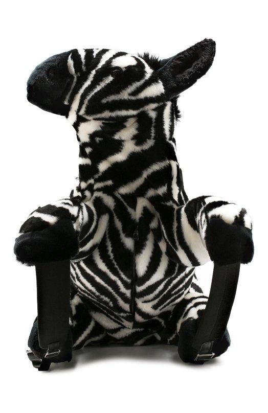 Купить Текстильный рюкзак Vulcano 1 Dolce & Gabbana, BM6606/AV019, Италия, Черно-белый, Текстиль: 90%; Кожа: 10%;