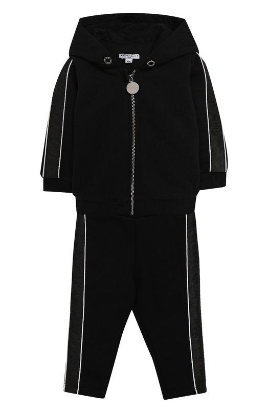 Комплект из хлопкового кардигана и брюк  Givenchy