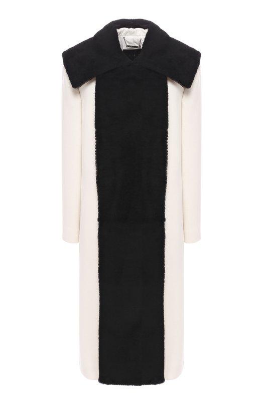 Купить Шерстяное пальто Givenchy, BWC03H1139, Италия, Белый, Шерсть: 96%; Полиамид: 4%; Подкладка-шелк: 100%;
