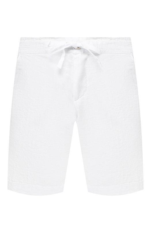 Купить Льняные шорты 120% Lino, P0W2794/0253/000, Болгария, Белый, Лен: 100%;