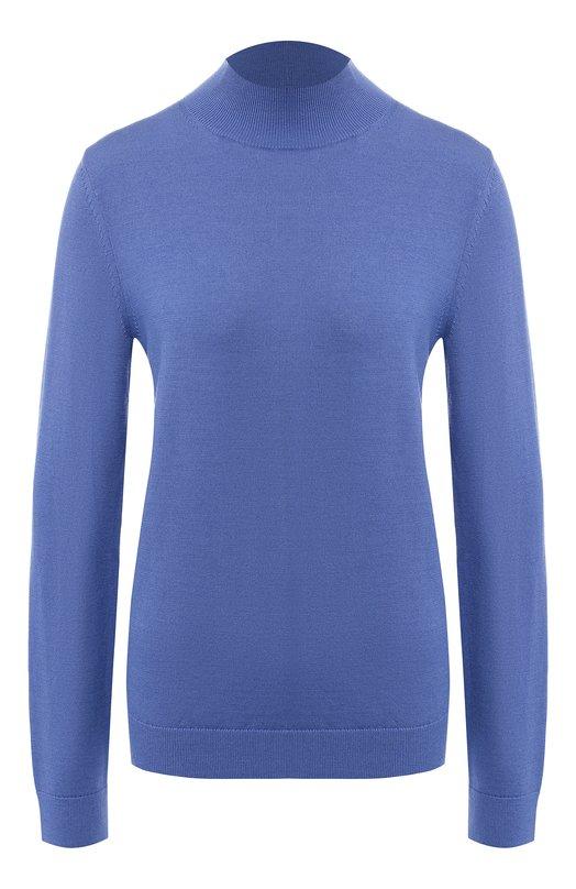 Купить Шерстяной пуловер BOSS, 50402277, Китай, Синий, Шерсть: 100%;