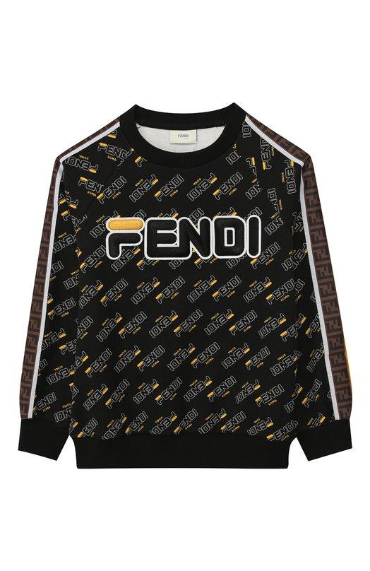 Хлопковый свитшот Fendi