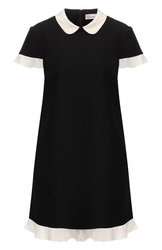 Мини-платье с оборкой REDVALENTINO REDVALENTINO