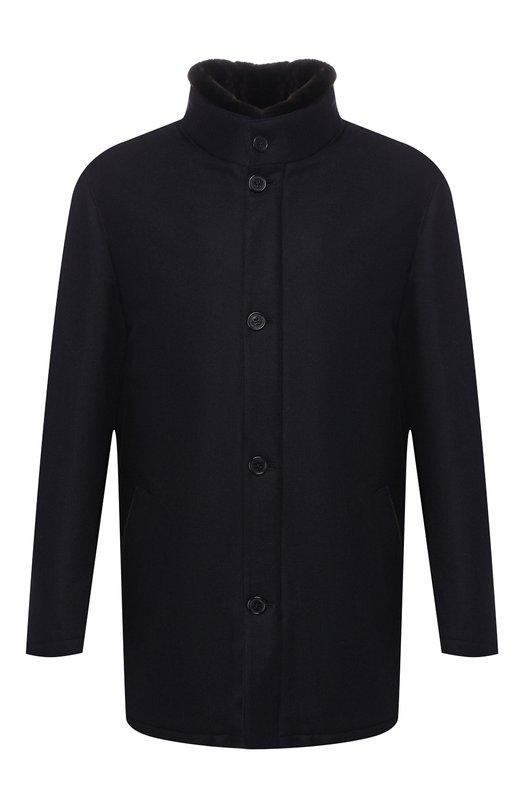 Пальто из смеси шерсти и кашемира Andrea Campagna