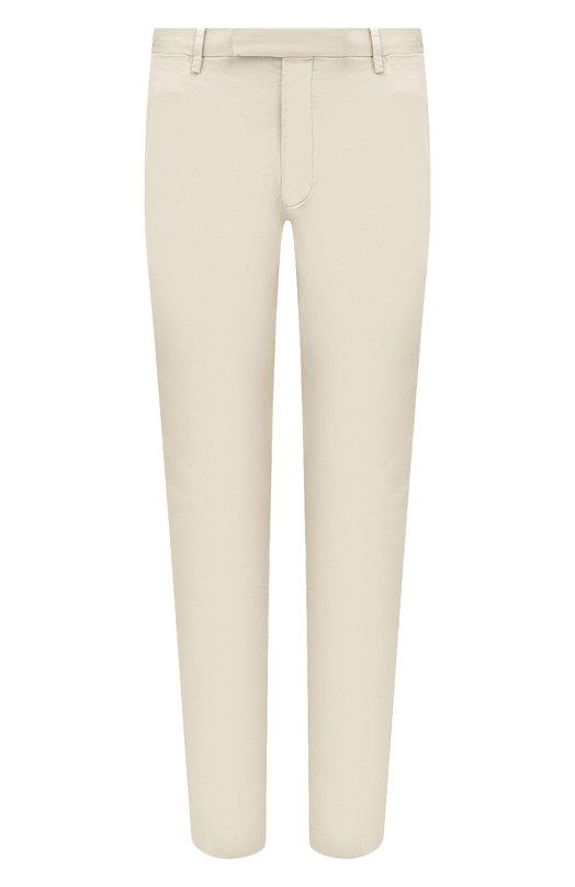 Купить Хлопковые брюки Polo Ralph Lauren, 710644988, Индонезия, Светло-бежевый, Хлопок: 97%; Эластан: 3%;