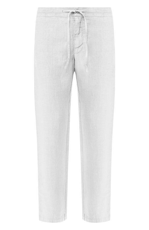 Купить Льняные брюки 120% Lino, P0M2072/0253/001, Болгария, Светло-серый, Лен: 100%;
