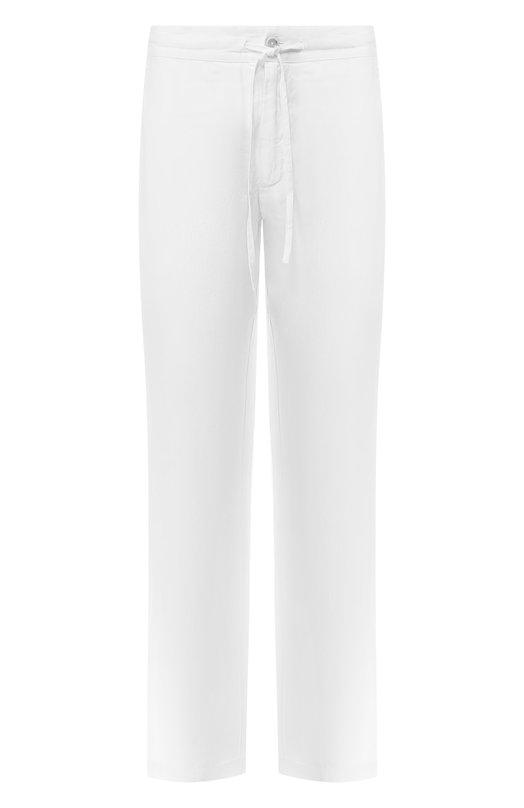 Купить Льняные брюки 120% Lino, P0M2072/0253/001, Болгария, Белый, Лен: 100%;