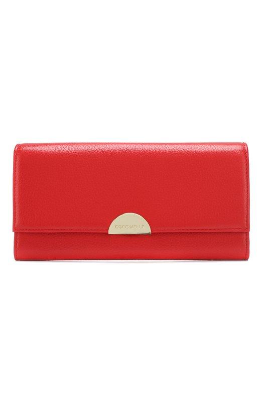 Купить Кожаный кошелек Coccinelle, E2 D35 11 03 01, Китай, Красный, Кожа натуральная: 100%;