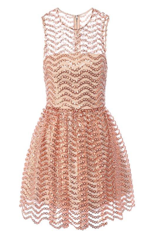 Платье с декоративной отделкой Alice + Olivia