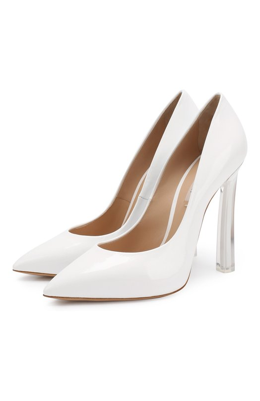 Лаковые туфли Plexi Casadei