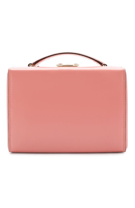 Сумка Grace Small Box Mark Cross, W108152G, Италия, Розовый, Кожа натуральная: 100%;  - купить