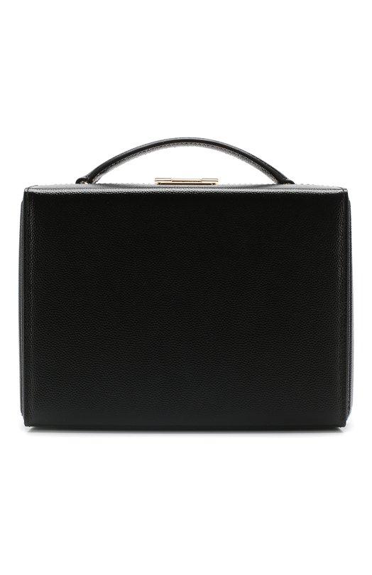 Купить Сумка Grace Small Box Mark Cross, W108344G, Италия, Черный, Кожа натуральная: 100%;