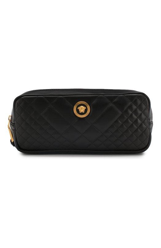 Поясная сумка Medusa Versace, DV3G687/DNATR2, Италия, Черный, Кожа натуральная: 100%;  - купить