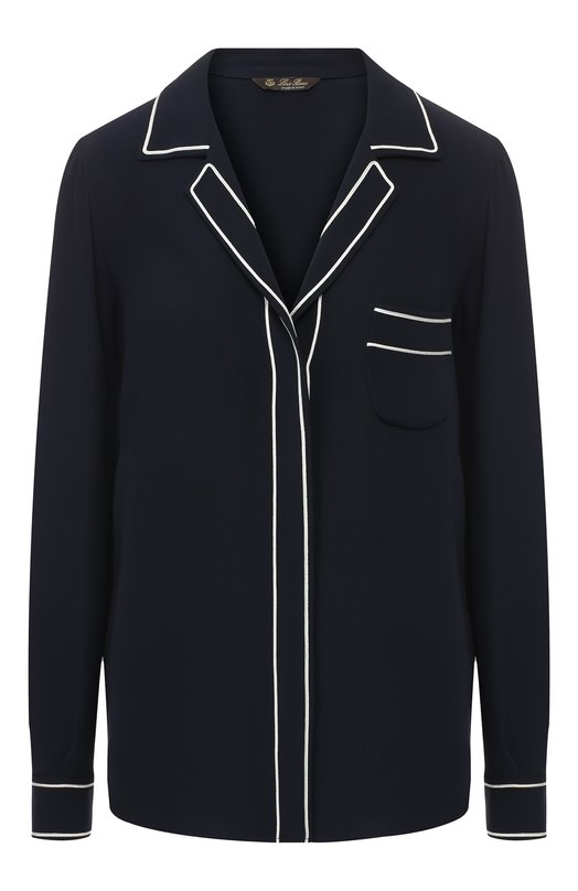 Шелковая блузка Loro Piana, Loro Piana