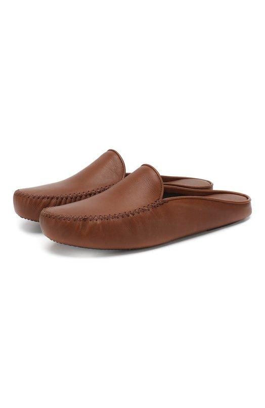 Домашние кожаные туфли Homers At Home