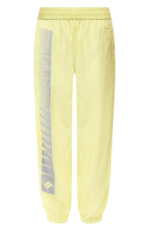Купить Джоггеры с карманами T by Alexander Wang, 4W494001Q1, Китай, Желтый, Полиамид: 100%;