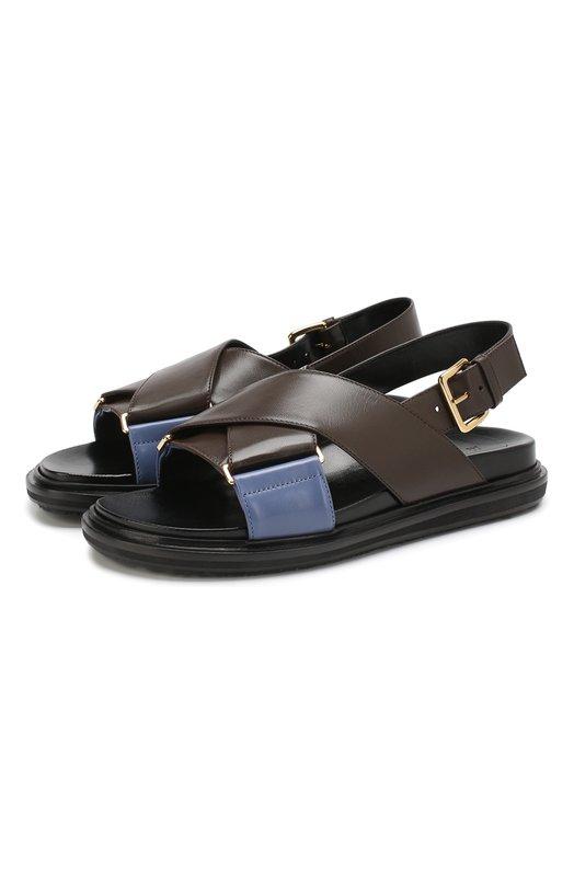 Кожаные сандалии Marni