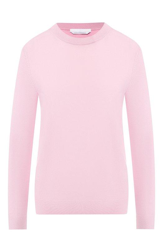 Купить Шерстяной пуловер BOSS, 50402268, Китай, Светло-розовый, Шерсть: 100%;