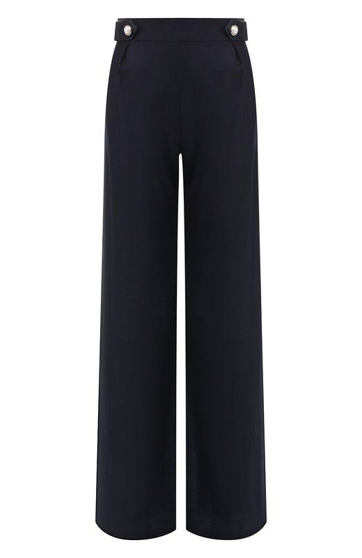 Купить Шерстяные брюки Mother Of Pearl, 4335 A R0LAND, Польша, Темно-синий, Шерсть: 100%;