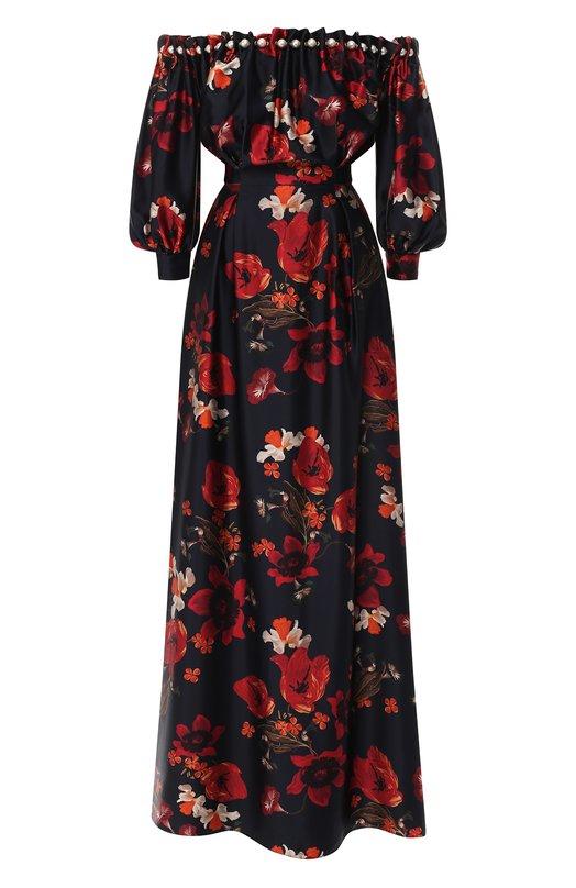 Купить Шелковое платье Mother Of Pearl, 5505 B BERTHA, Польша, Разноцветный, Шелк: 100%;