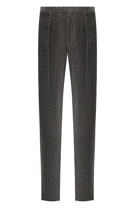Купить Хлопковые брюки Giorgio Armani, 8WGPP00Z/T0062, Италия, Темно-серый, Хлопок: 99%; Эластан: 1%;