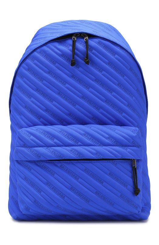 Купить Текстильный рюкзак Explorer Balenciaga, 503221/9XZA5, Италия, Синий, Текстиль: 100%;