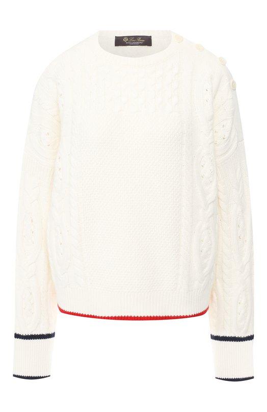 Кашемировый пуловер Loro Piana, Loro Piana