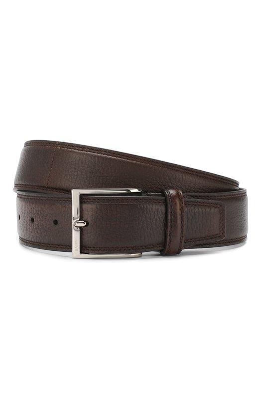 Купить Кожаный ремень Barrett, 81B537.5/CERV0 ASP0RTABILE, Италия, Светло-коричневый, Кожа: 100%;