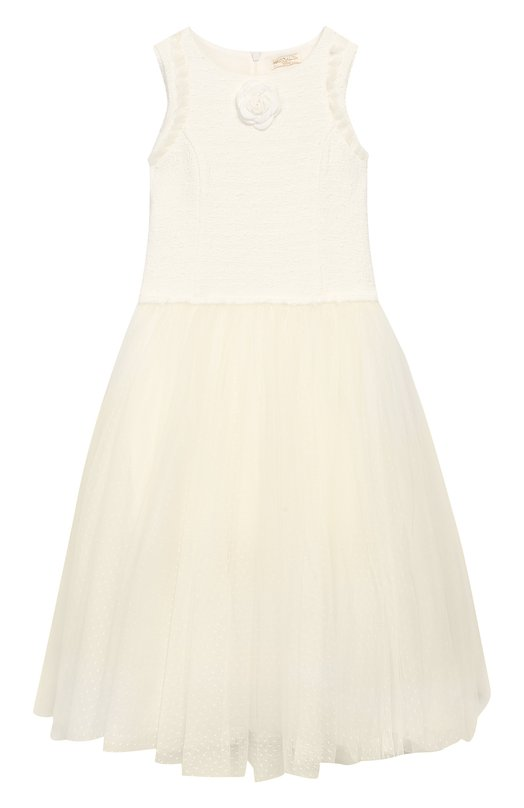 Платье-макси Monnalisa