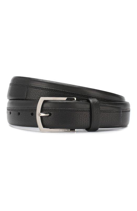 Купить Кожаный ремень Barrett, 81B545.1/CERV0, Италия, Черный, Кожа: 100%;