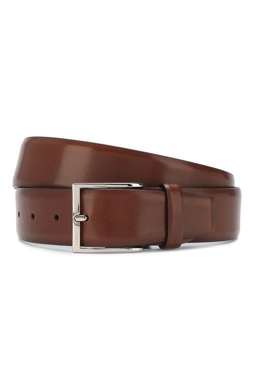 Купить Кожаный ремень Barrett, 82B547.11/EVERT0N, Италия, Светло-коричневый, Кожа: 100%;