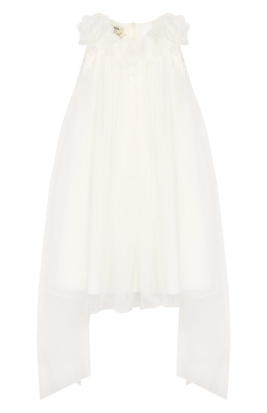 Хлопковое мини-платье Caf