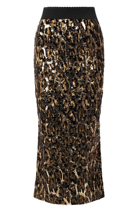 Юбка с пайетками Dolce & Gabbana