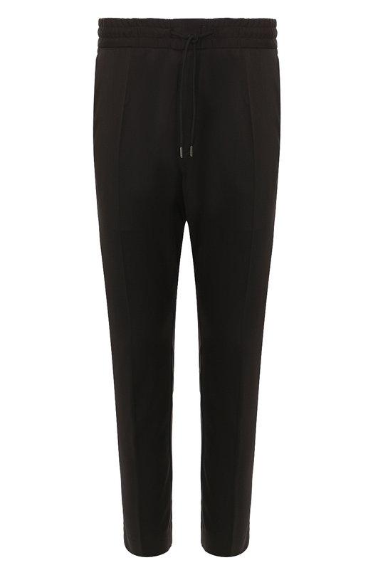 Купить Шерстяные брюки HUGO, 50401107, Румыния, Черный, Шерсть: 100%;